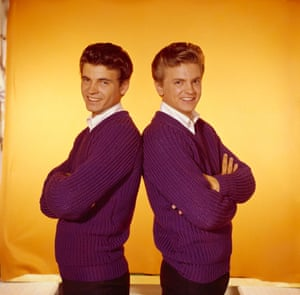 Phil and Don in the studio, 1959