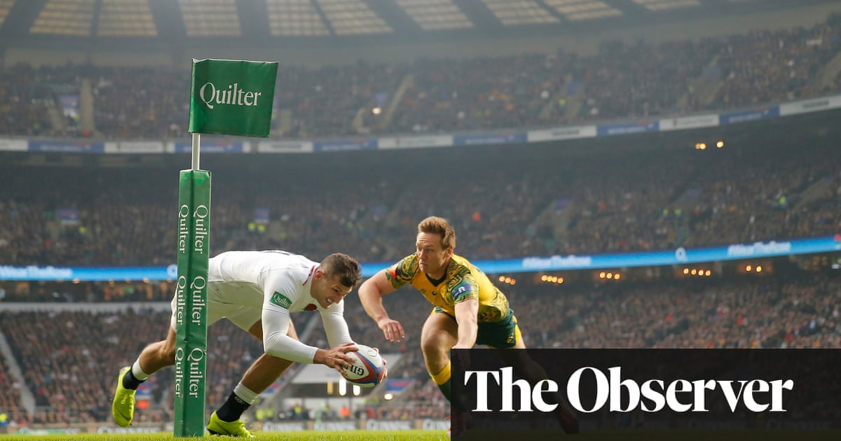 RFU hopes to avoid using autumn international proceeds to help others - the guardian