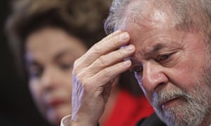 Brazil's former president Luiz Inácio Lula da Silva has been convicted on corruption charges.