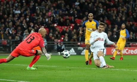 Fernando Llorente off the mark for Tottenham in stroll against Apoel