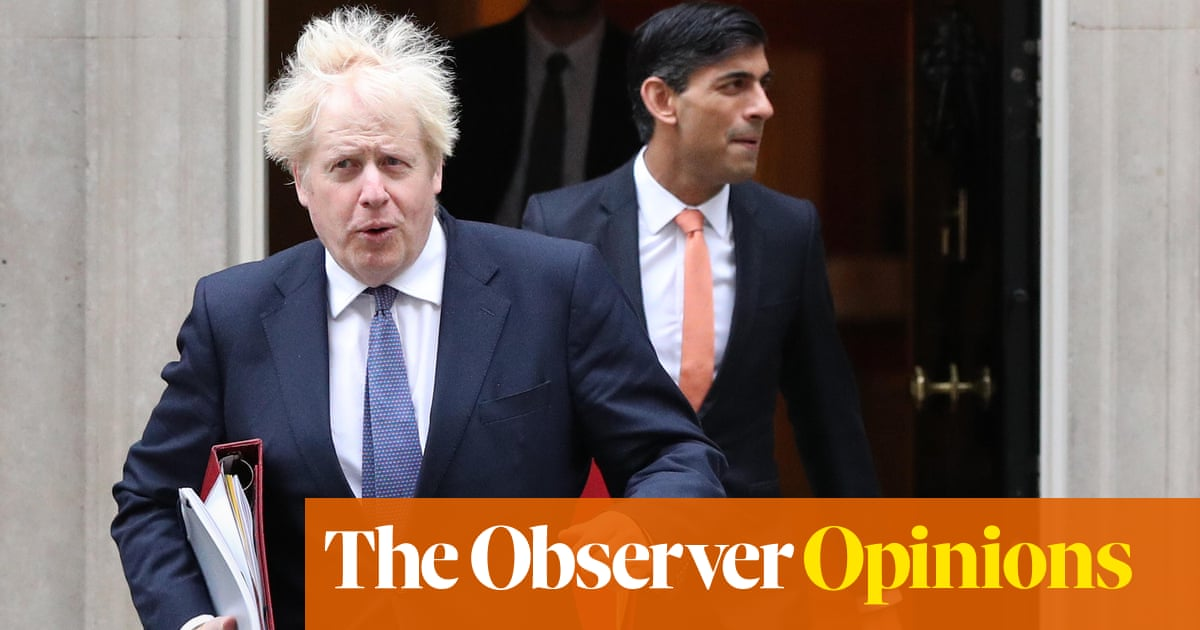 'Scrooge' Sunak could spoil the party for Boris Johnson