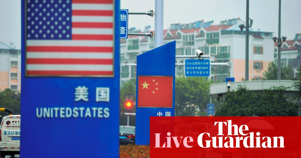 Trade war fears mount as Trump says China meeting 'unlikely