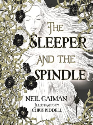 The Sleeper and the Spindle illustrated by Chris Riddell, written by Neil Gaiman (Bloomsbury)