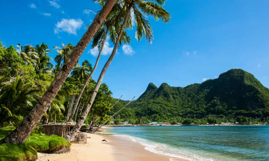 Tutuila Island, American Samoa. Many Pacific economies are heavily dependent on international tourism, which has stopped due to coronavirus.