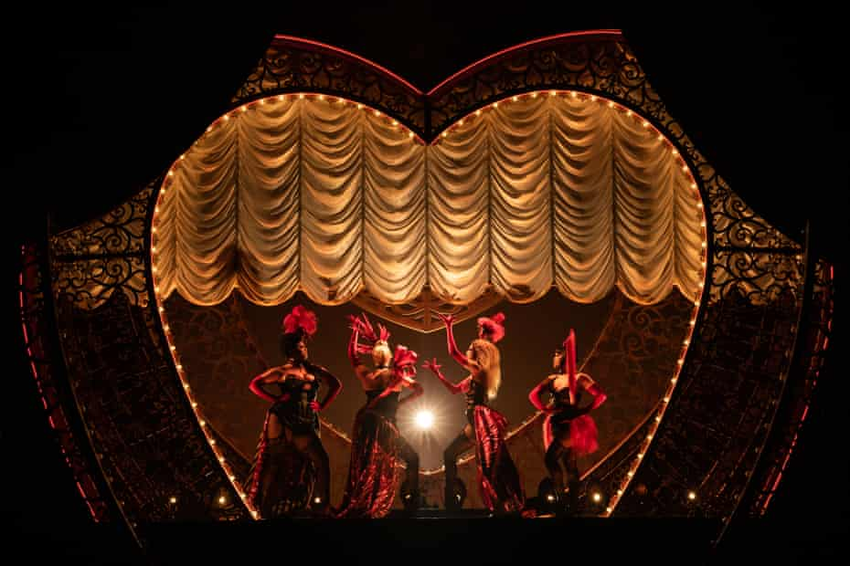 Jacqueline B Arnold, Robyn Hurder, Holly James and Jeigh Madjus in Moulin Rouge.
