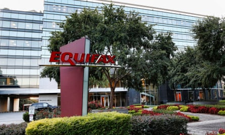 The Equifax building in Atlanta, Georgia.