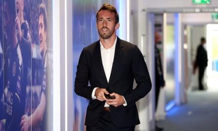 Leicester City player Christian Fuchs