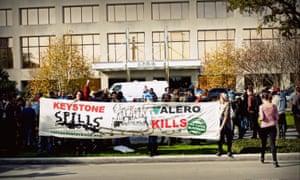 Keystone protest