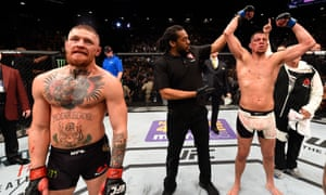 Nate Diaz is declared the victor as Conor McGregor reflects on a cruel night