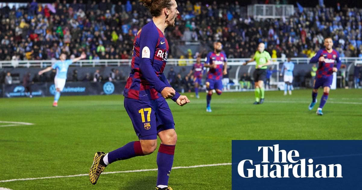 Griezmann the party pooper in Ibiza as late double spares Barcelona blushes