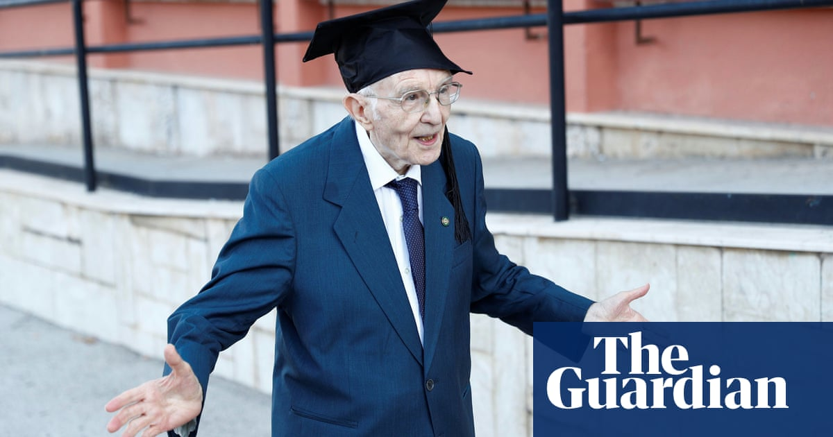 'I've realised my dream': Italy's oldest graduate top of the class at 96