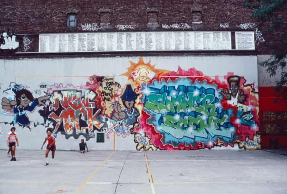 Summer Scene by FC Crew, Manhattan, 1985