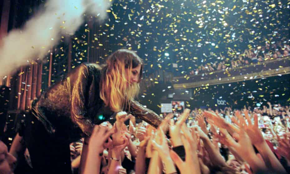 'Imagined reality': Wolf Alice singer Ellie Rowsell in On the Road