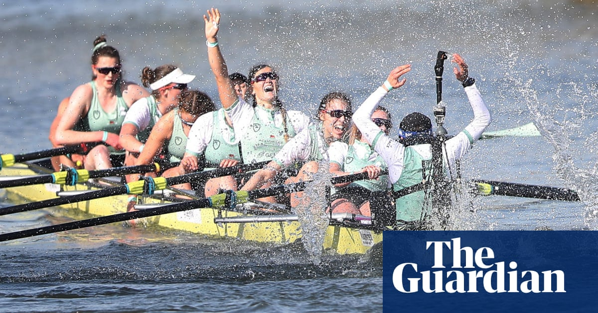 Cambridge don the medals after double boat race triumph over Oxford