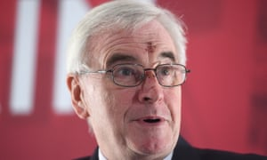 John McDonnell backs a national licensing scheme.