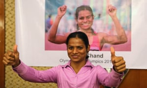 Indian athlete Dutee Chand