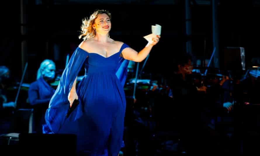 Natalya Romaniw in ENO's Tosca.