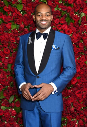 Actor Brandon Victor Dixon arrives at the Beacon Theater