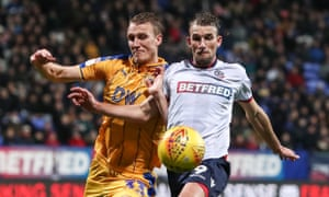 Bolton, in action here against Wigan, left, are suffering problems on and off the pitch.