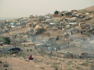 Alnile informal settlement, on the outskirts of Nyala, in southern Darfur