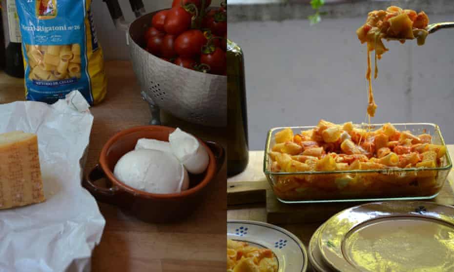 Pasta al forno di Cinzia