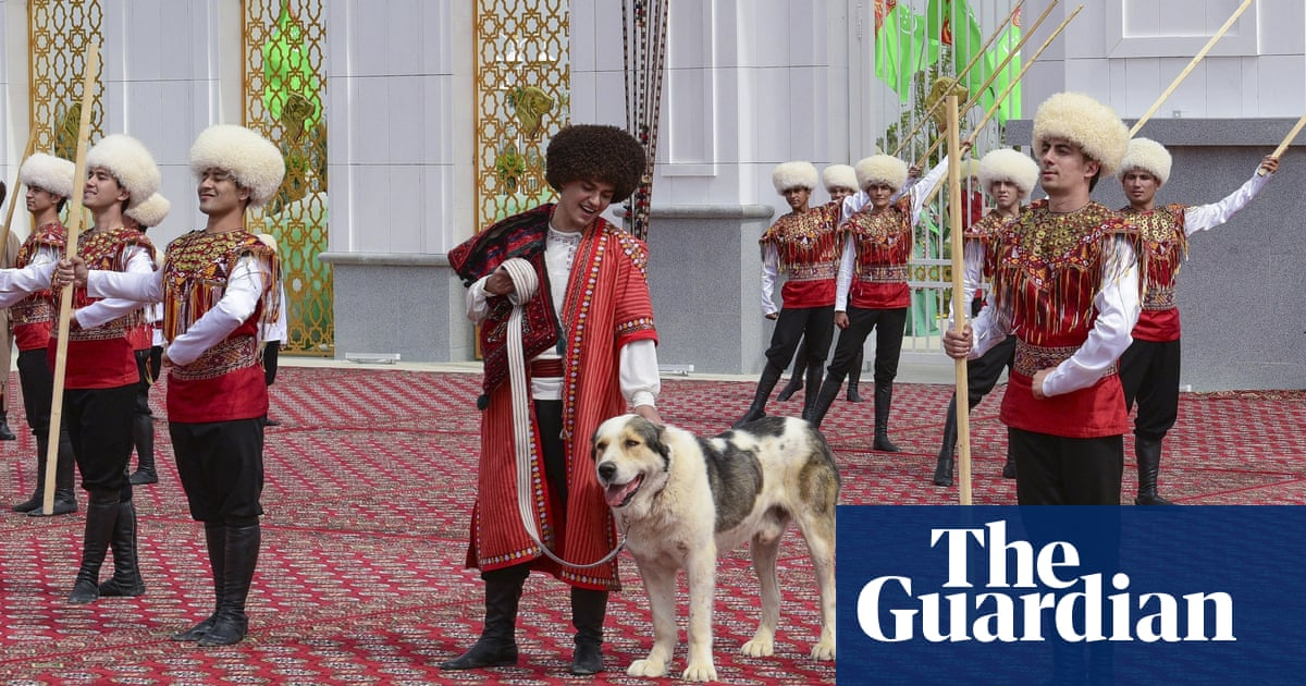Turkmenistan dedicates holiday to enormous national dog breed