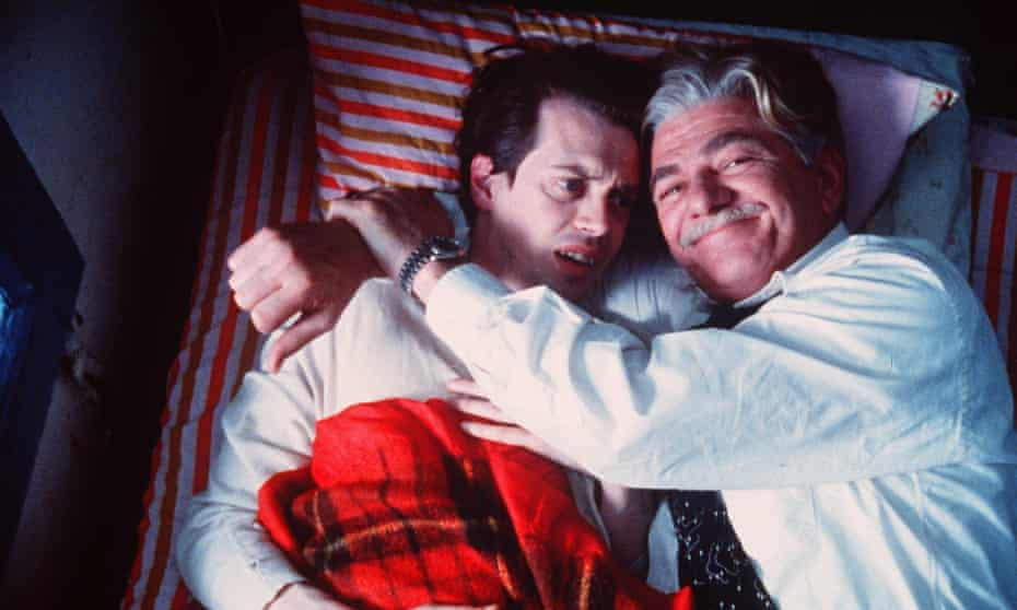 Steve Buscemi and Seymour Cassel in In the Soup, 1992