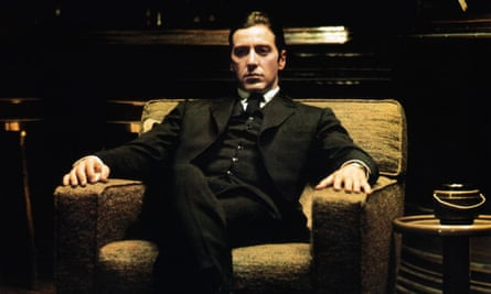 Al Pacino as Michael Corleone in The Godfather: Part II (1974).