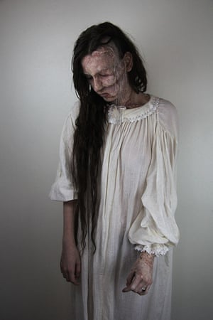 The Resurrectionist by Stefanie Kemp, 24, BA (hons) hair, makeup and prosthetics for performance.