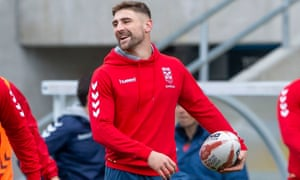 Tommy Makinson was only the fifth Englishman to win the Golden Boot.