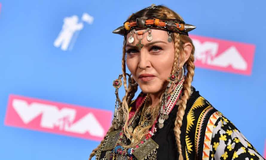 Madonna portrait