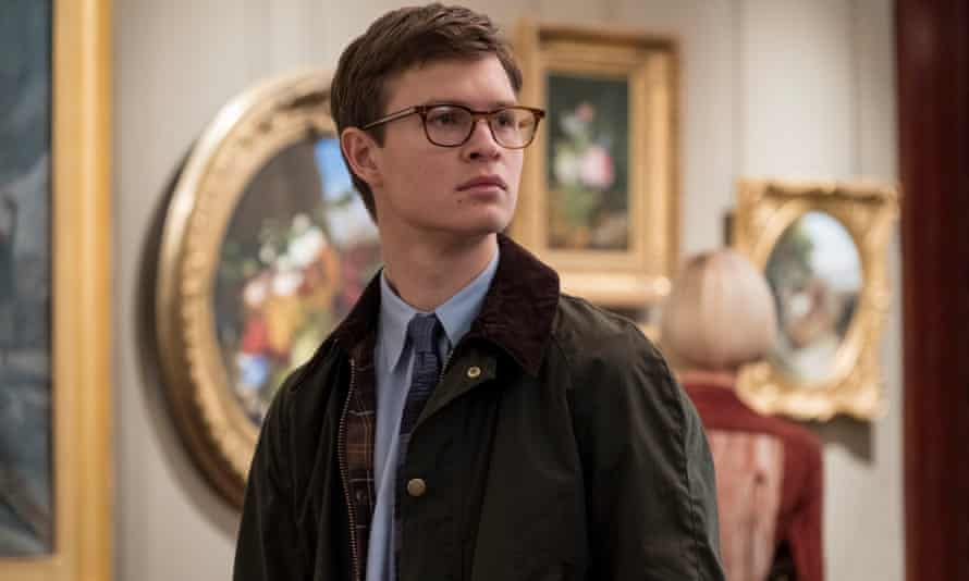 Ansel Elgort as Theo Decker in The Goldfinch.