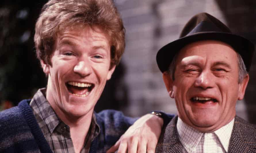 THAMES TV ARCHIVEEDITORIAL USE ONLY / NO MERCHANDISING Mandatory Credit: Photo by FremantleMedia Ltd/REX/Shutterstock (839280aw) 'Up the Elephant and Round the Castle' - Jim Davidson, John Bardon. THAMES TV ARCHIVE