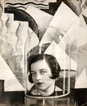 Lady Loughborough Under a Bell Jar, 1927