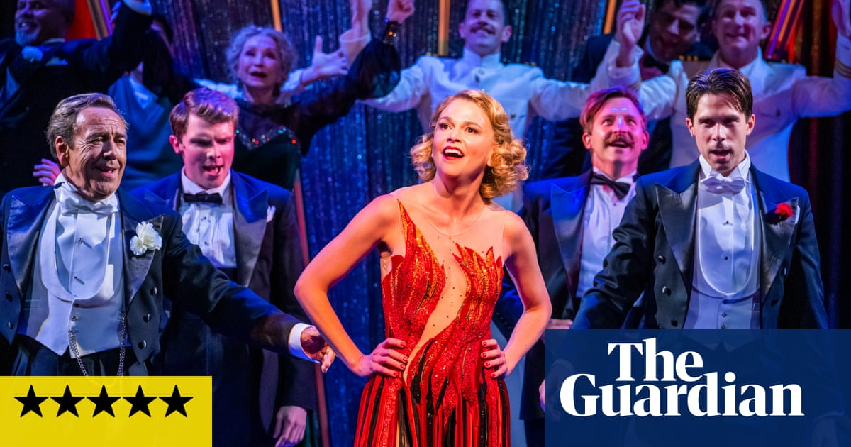 Anything Goes review – Sutton Foster dazzles in Cole Porter's fizzing tonic for our times
