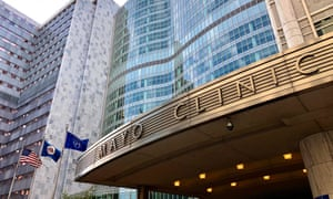 The Mayo Clinic, in Rochester, Minnesota.