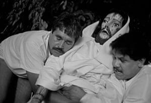 Holding Jesus, Taxco, 2003