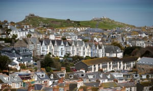 According to St Ives town council, 25% of residential properties in 2011 were classed as second homes.