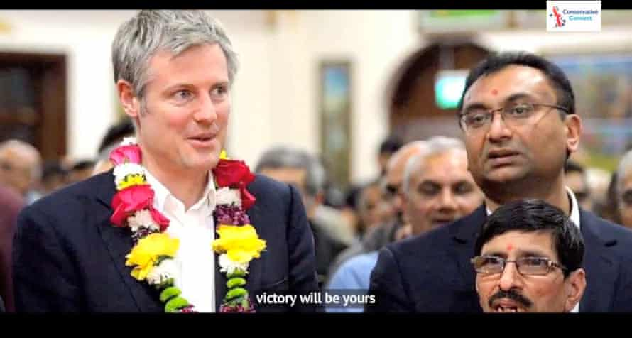 a still from the campaign song Zac Goldsmith Will Win!