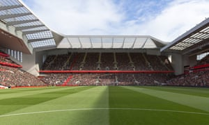 Liverpool's planned expansion of the Anfield Road stand would increase the stadium's capacity by 7,000.