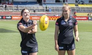 Courtney Webb (left) andAbbie McKay (right)