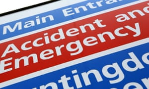 Accident & Emergency unit sign