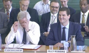 Robbins, tipped as a future cabinet secretary, was moved from Davis's Brexit department into No 10 last year.