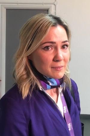 Flybe cabin crew member Katherine Densham