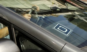 uber logo on car