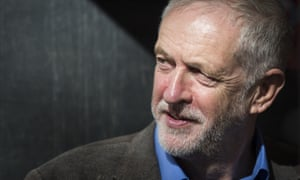 Jeremy Corbyn at a rally to mark 80 years since the Battle of Cable Street in London's East End on 9 October.