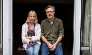 Sally Lane and John Letts, photographed for the Observer New Review at home in Oxford.