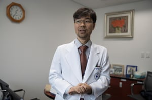 Dr Tae Kyung Lee, a mental health doctor specialising in addictions, at the National Centre for Mental Health, Gwangjin, Seoul.