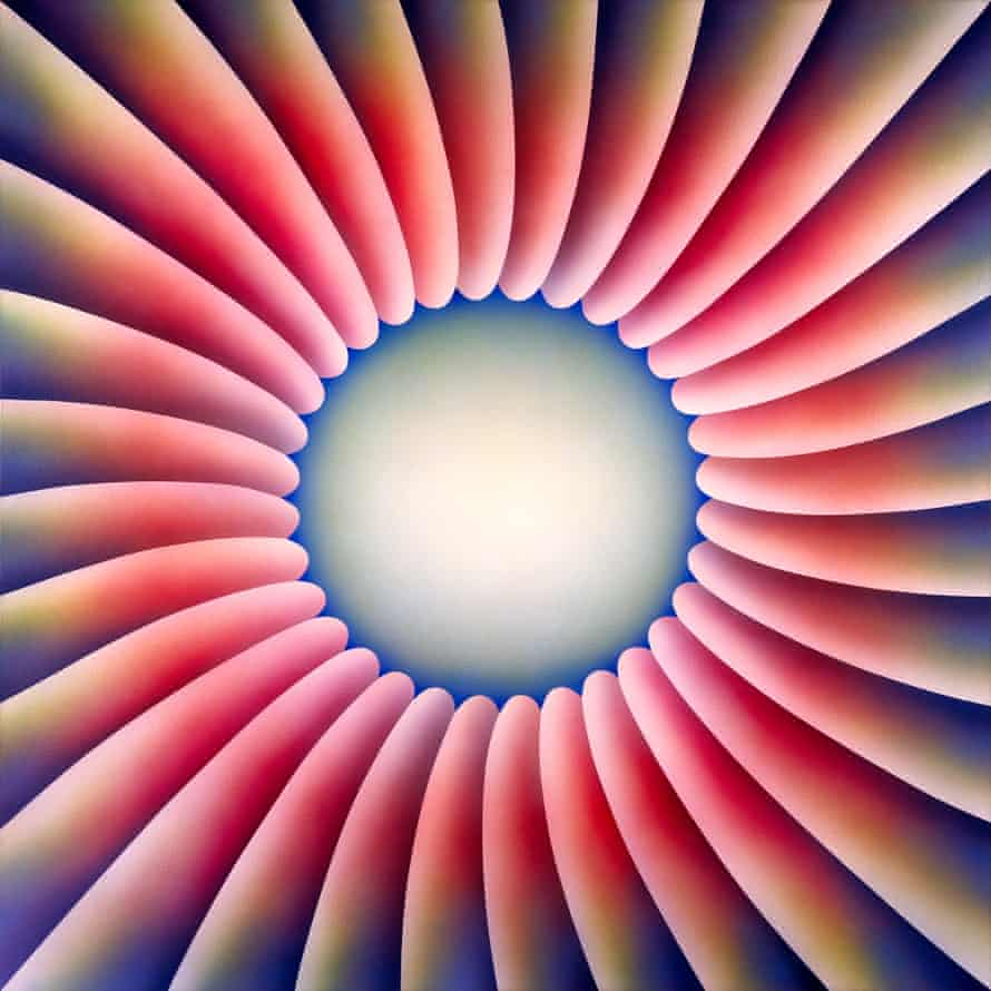 Through the Flower 1973, by Judy Chicago.