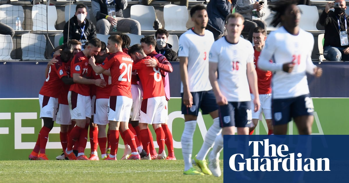England fall to Switzerland defeat in opening Under-21 Euros game